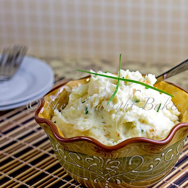 Heather's Garlic Mashed Potatoes