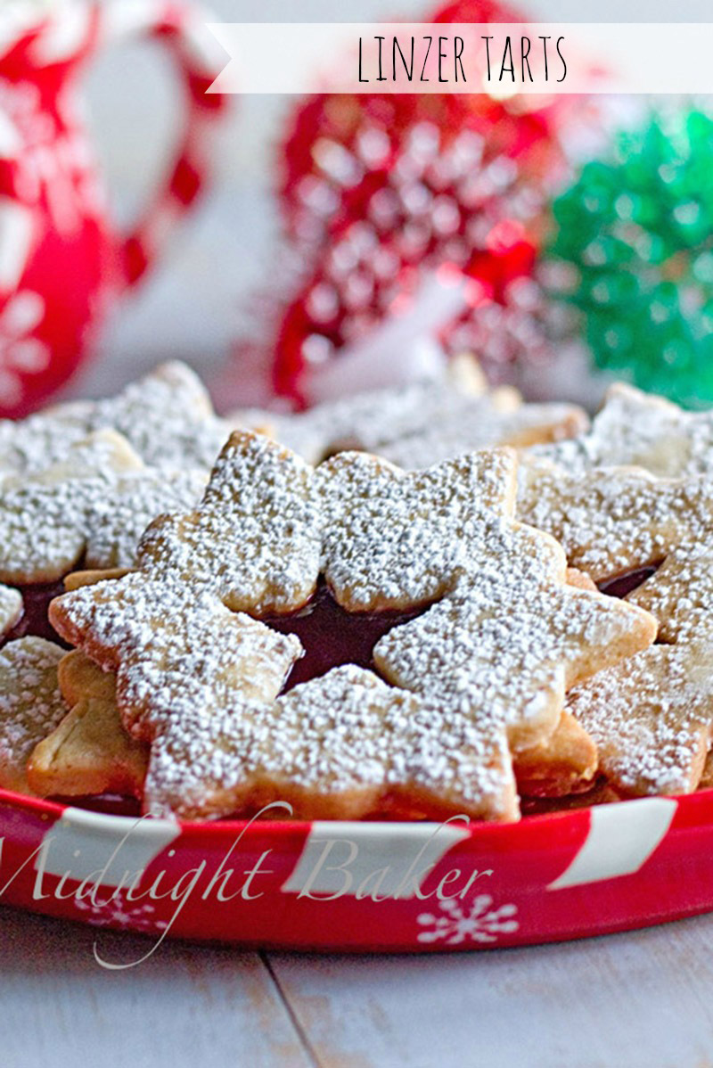 Linzer tarts are the most perfect holiday cookie!