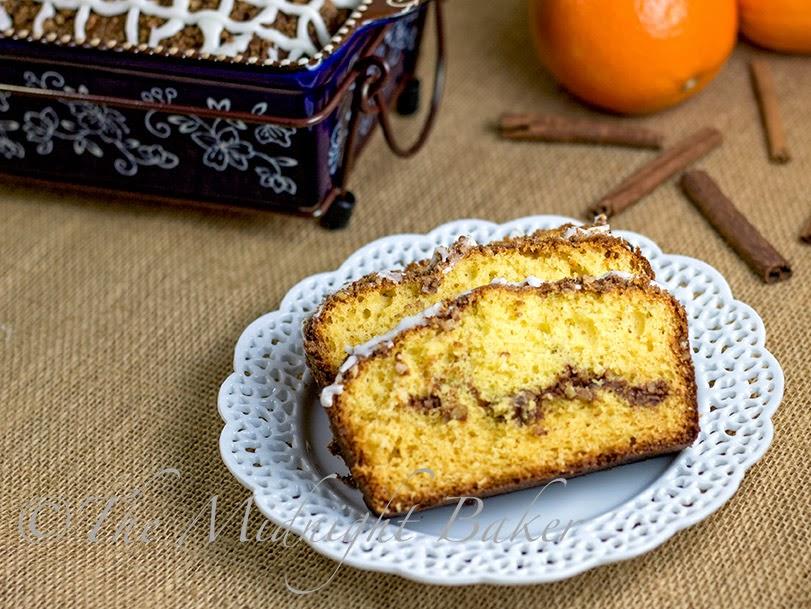 Orange Pecan Streusel Coffee Cake #CoffeeCakeRecipe #YellowCakeMix #StreuselCoffeeCake