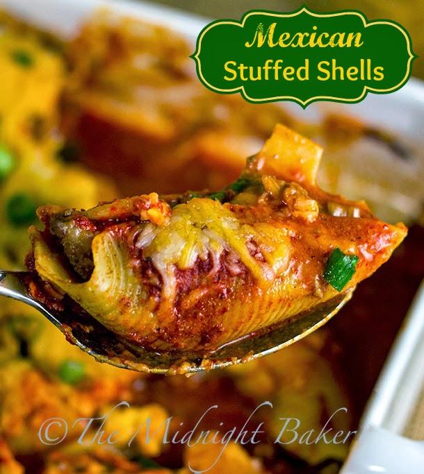 Mexican Stuffed Shells #MexicanFood #Tacos #Enchiladas
