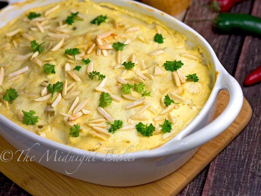 Mexican Chicken Enchilada Lasagna | bakeatmidnite.com | #mexican #lasagna #enchiladas #chicken