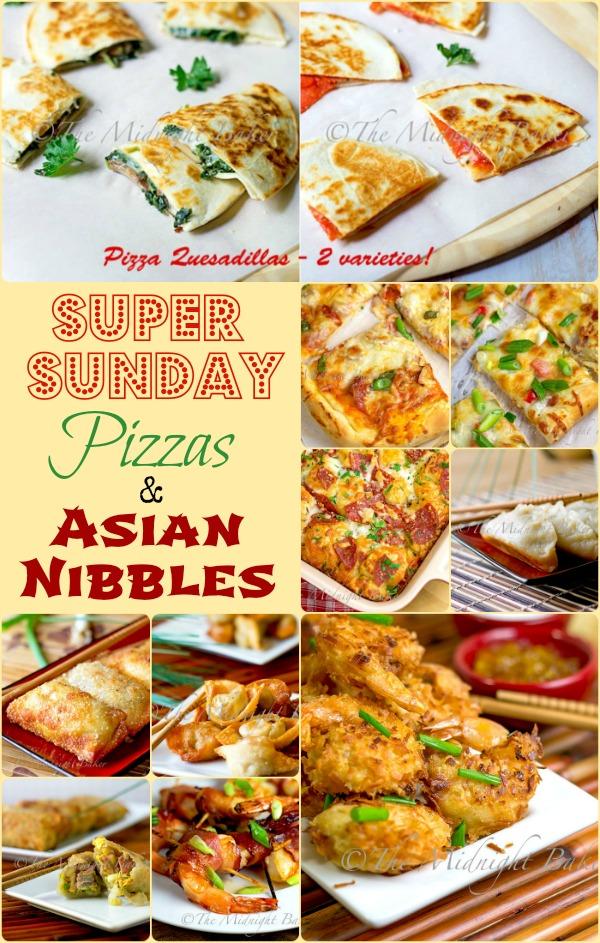 super sunday pizza asian