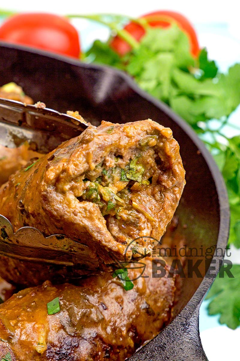 Bracciole only looks complicated to make but it' quick, easy and delicious!