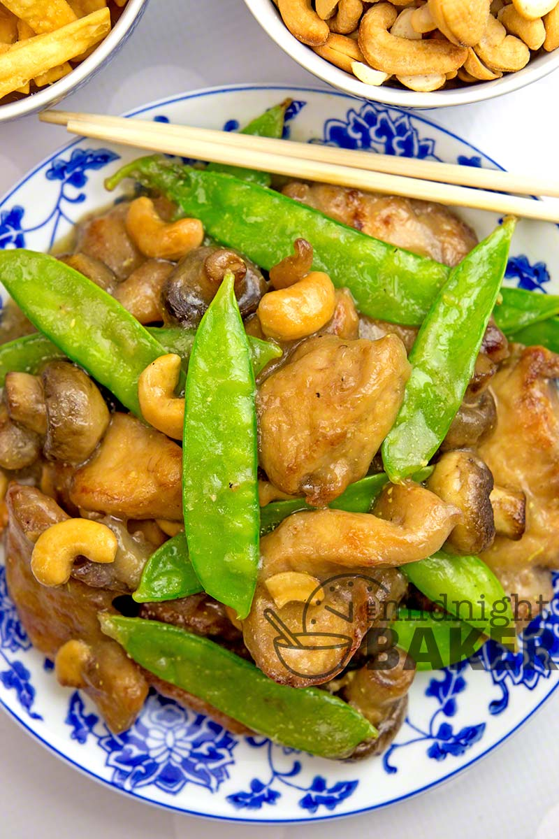 Delicious Asian chicken stir fry that's so quick, it won't heat the kitchen!