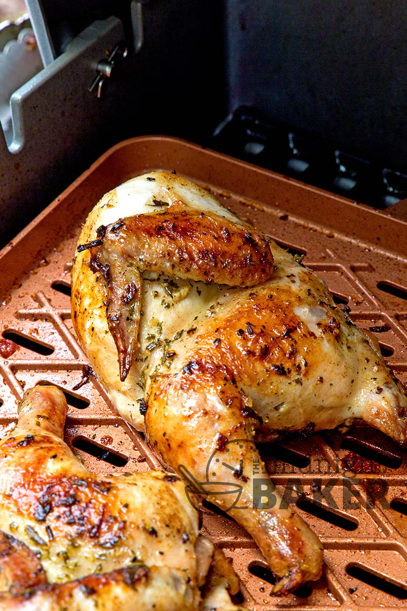 Cornish hens are perfect for the outdoor grill!