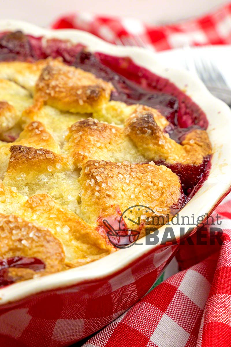 Cherry Berry Pandowdy is the perfect dessert for those who struggle with pies!