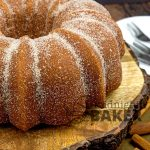 Apple cider donuts are a fall treat. Now you can have the same taste in a cake!