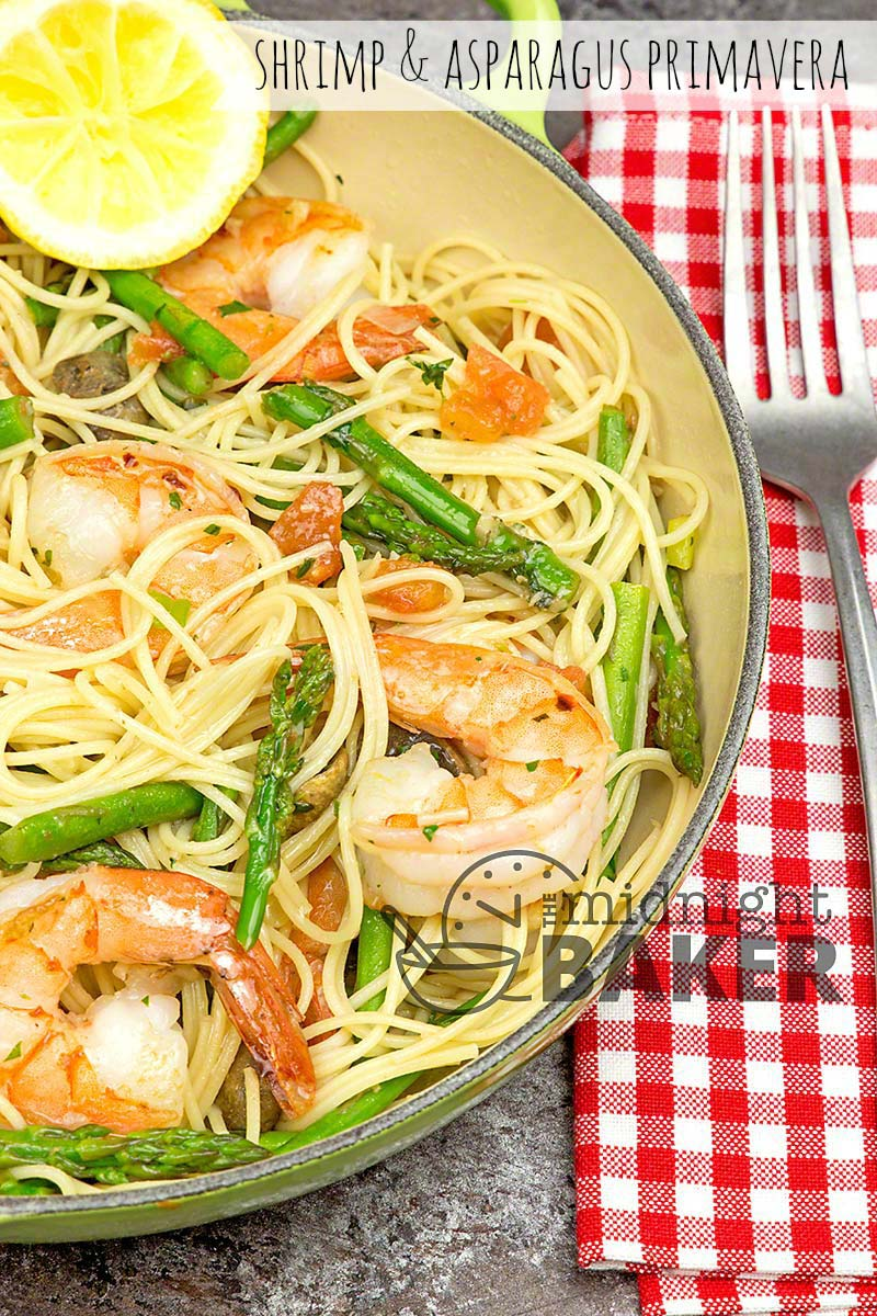 Fresh herbs make this easy shrimp and pasta dish have great flavor.
