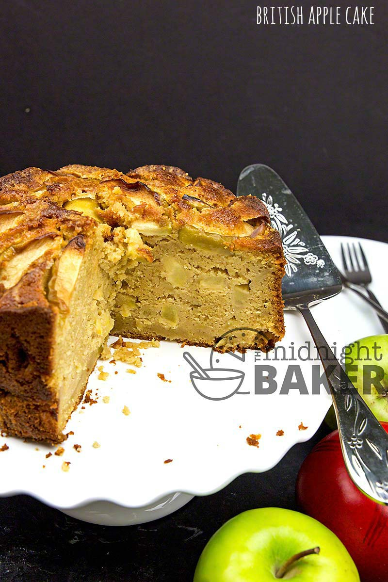 An easy apple dessert cake that's typically British. Loaded with apples and warm spices