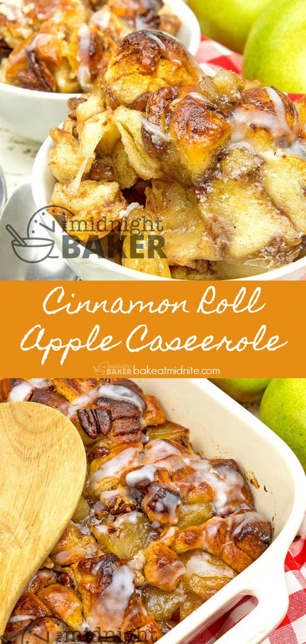 A warm and buttery cinnamon apple dessert that's very easy to make.
