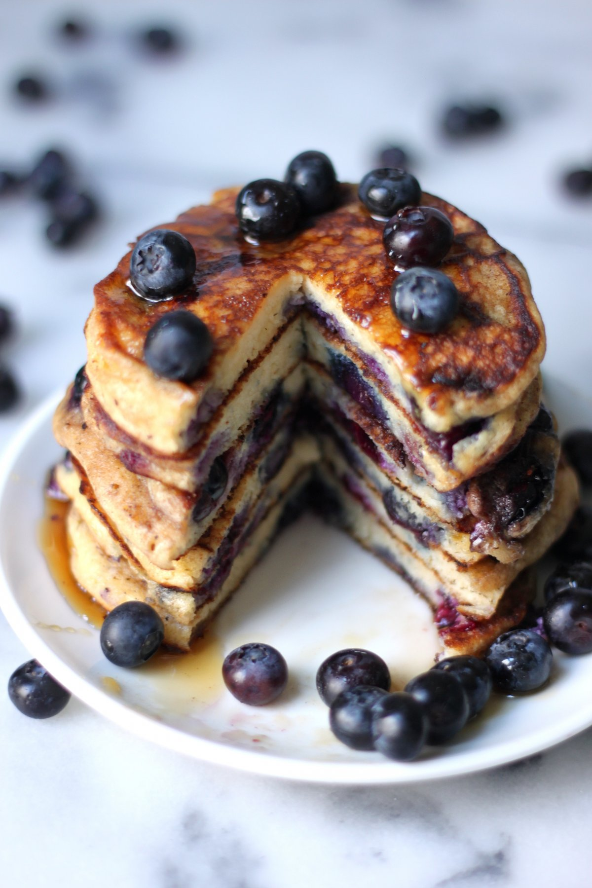 The Blueberry Pancakes Of Your Dreams Baker By Nature