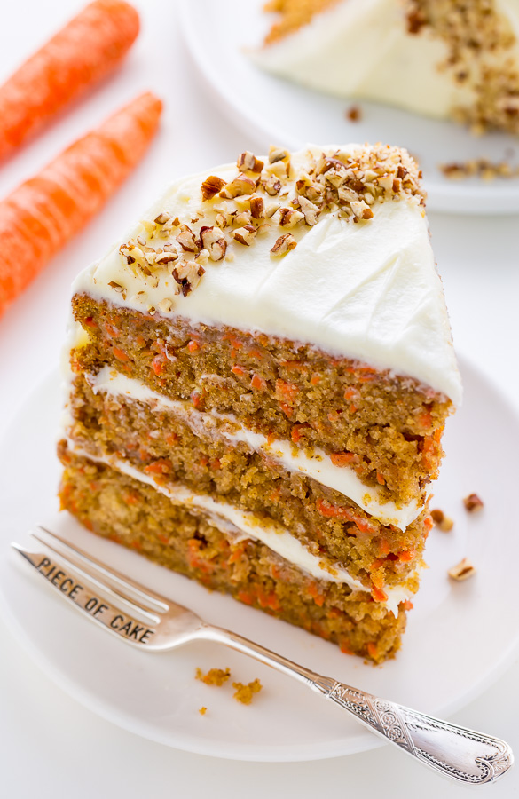 My Favorite Carrot Cake   Baker by Nature My FAVORITE Carrot Cake recipe is extremely moist  fluffy  and flavorful
