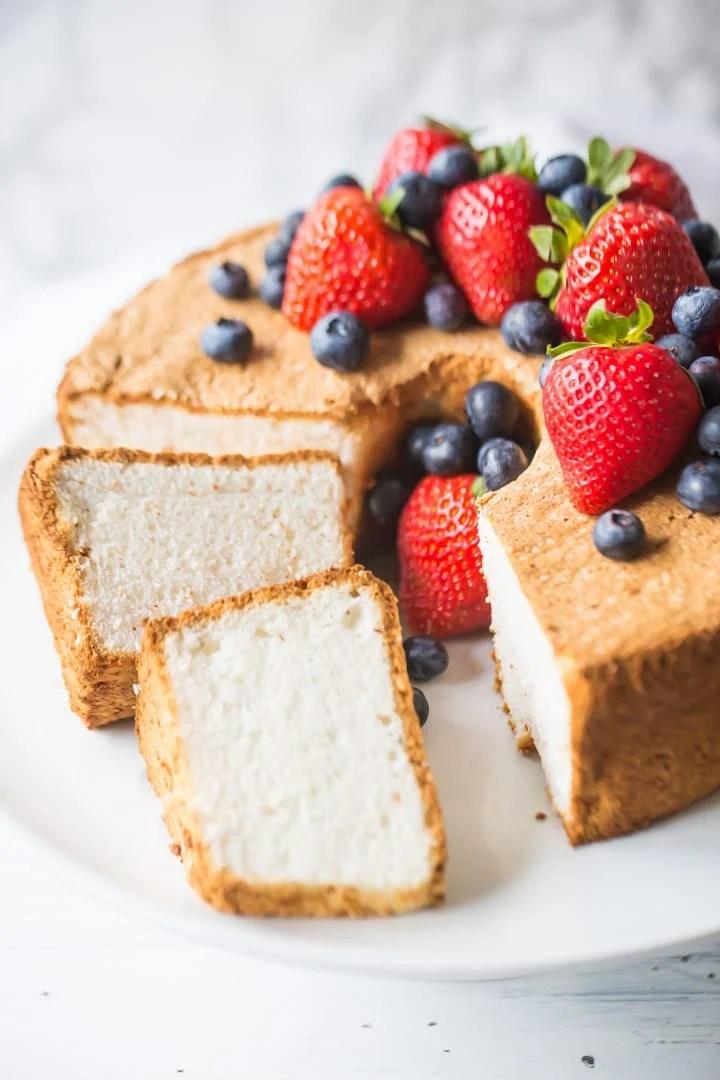 Angel Food Cake Like A Sweet Cloud Baking A Moment