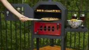 Pit Boss Charcoal Pizza Oven Outdoor Baking Bread Cake