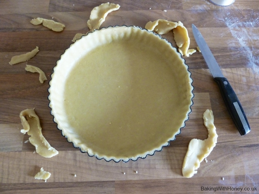 Shortcrust Pastry Baking With Honey