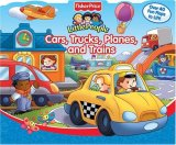 Little People Cars, Trucks, Planes and Trains book