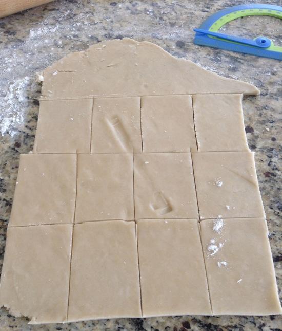 PBJ crust cut out
