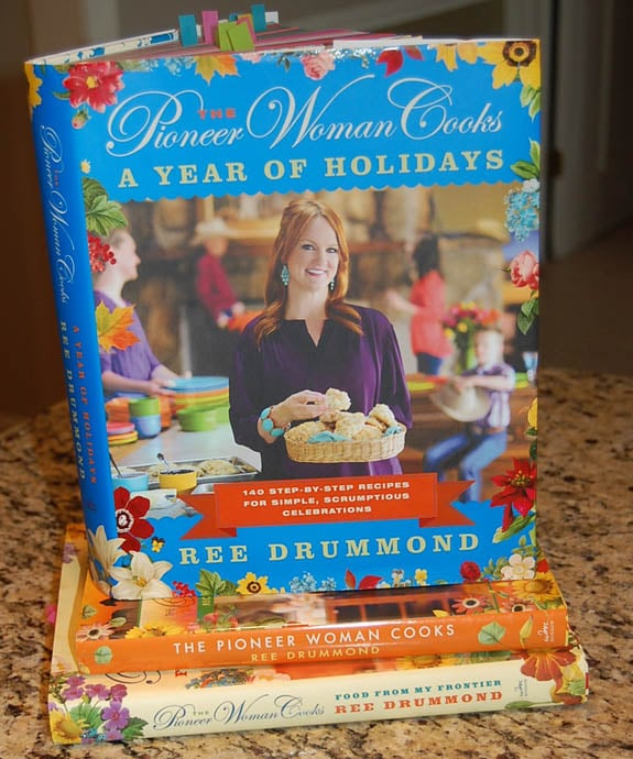 The Pioneer Woman holiday cookbook