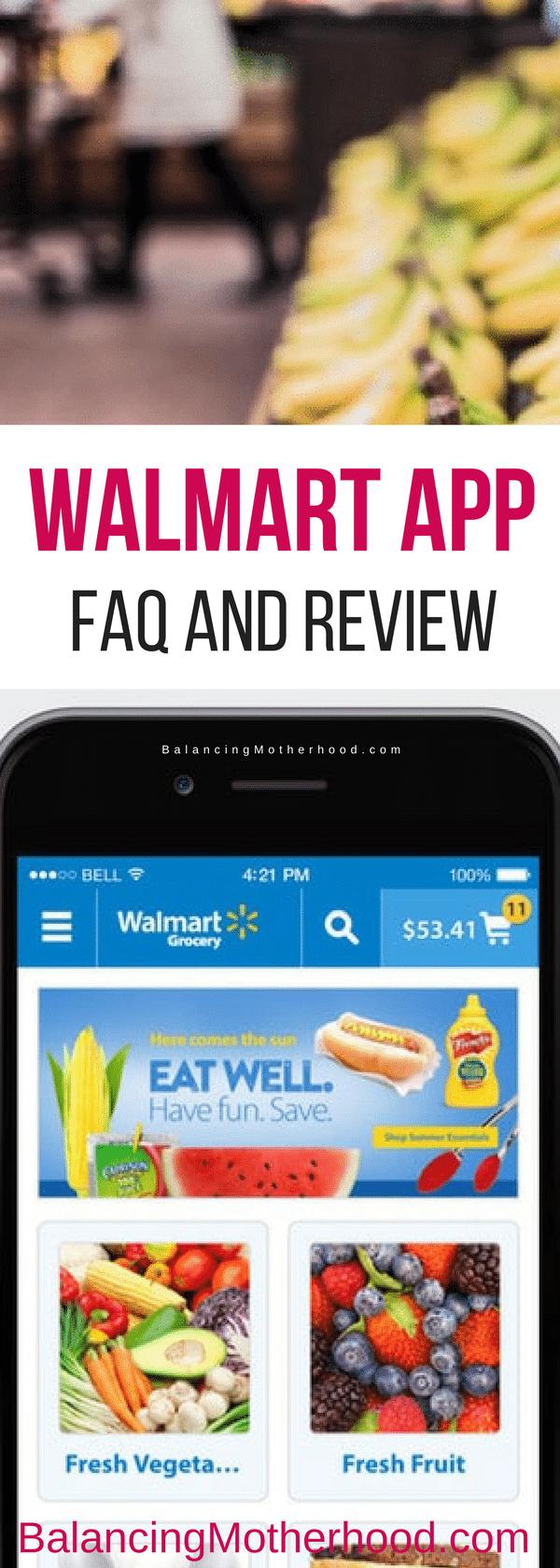 Walmart App Review and FAQ