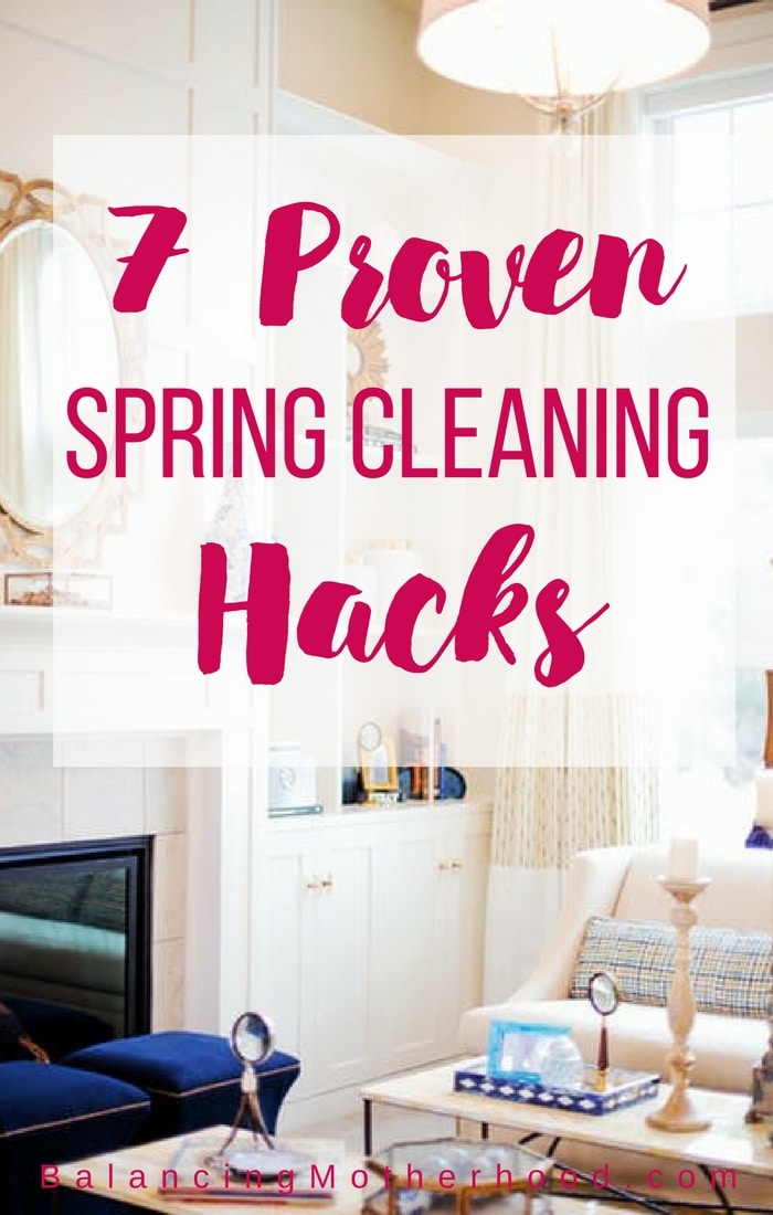 7 proven spring cleaning hacks and a printable checklist