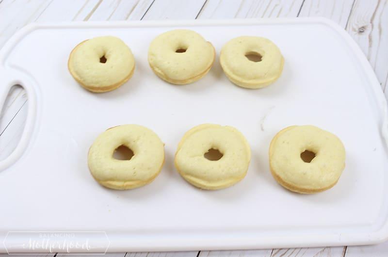 Halloween Monster Donuts Preparation 4
