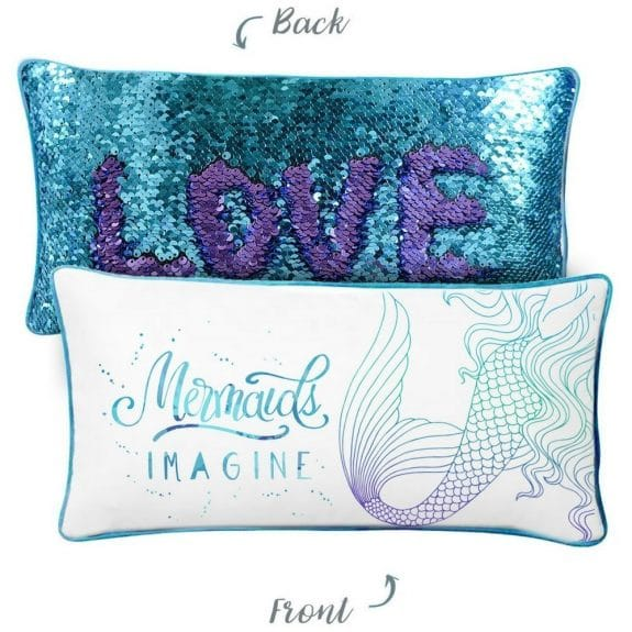 Cool gifts for kids: mermaid pillow