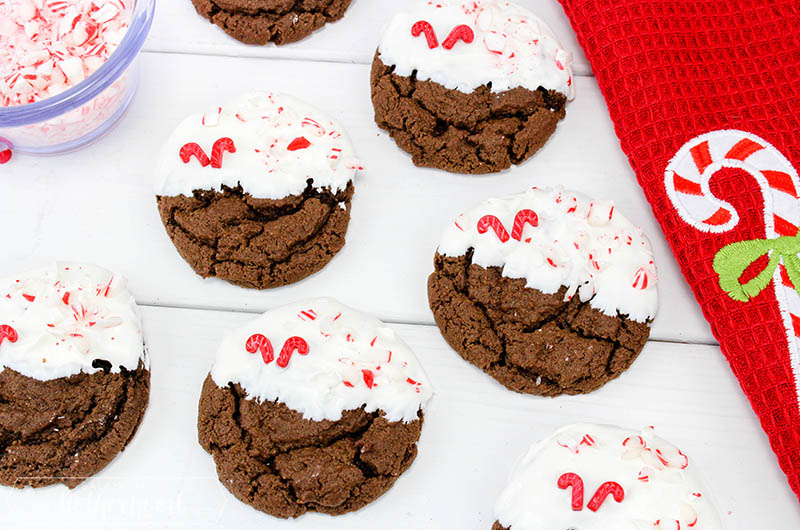 Chewy Chocolate Peppermint Cookies Final 1