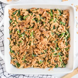 green bean casserole side dish