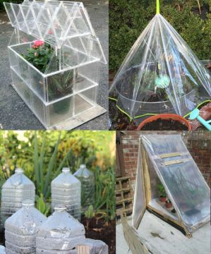 DIY greenhouse ideas   Balcony Garden Web DIY greenhouse ideas