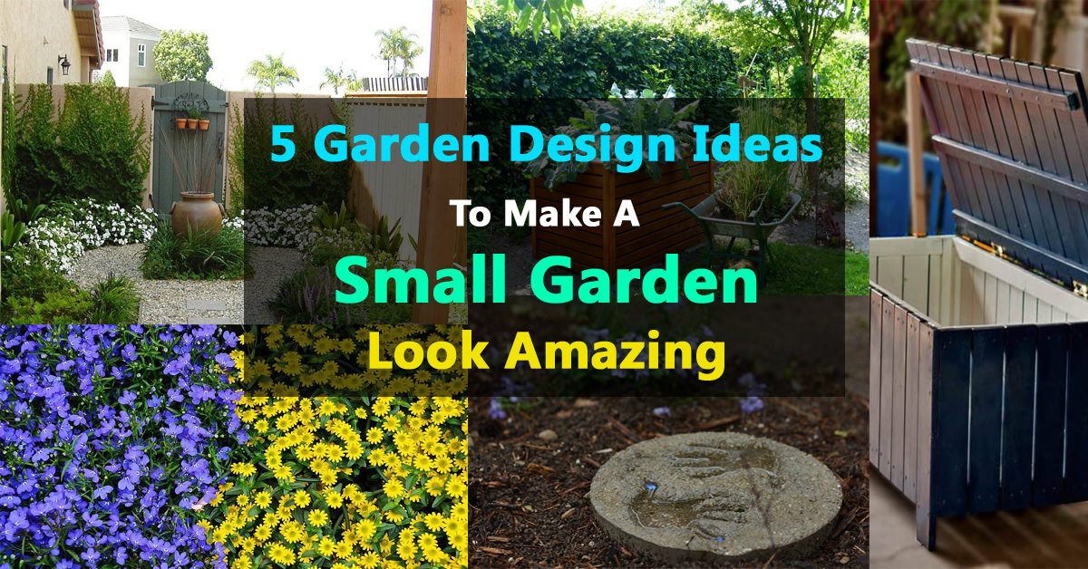 Best Small Garden Design Ideas