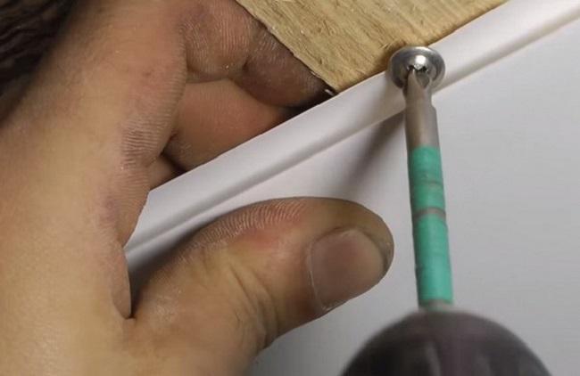 РВХ панельдерін мырышталған профильге бекіту