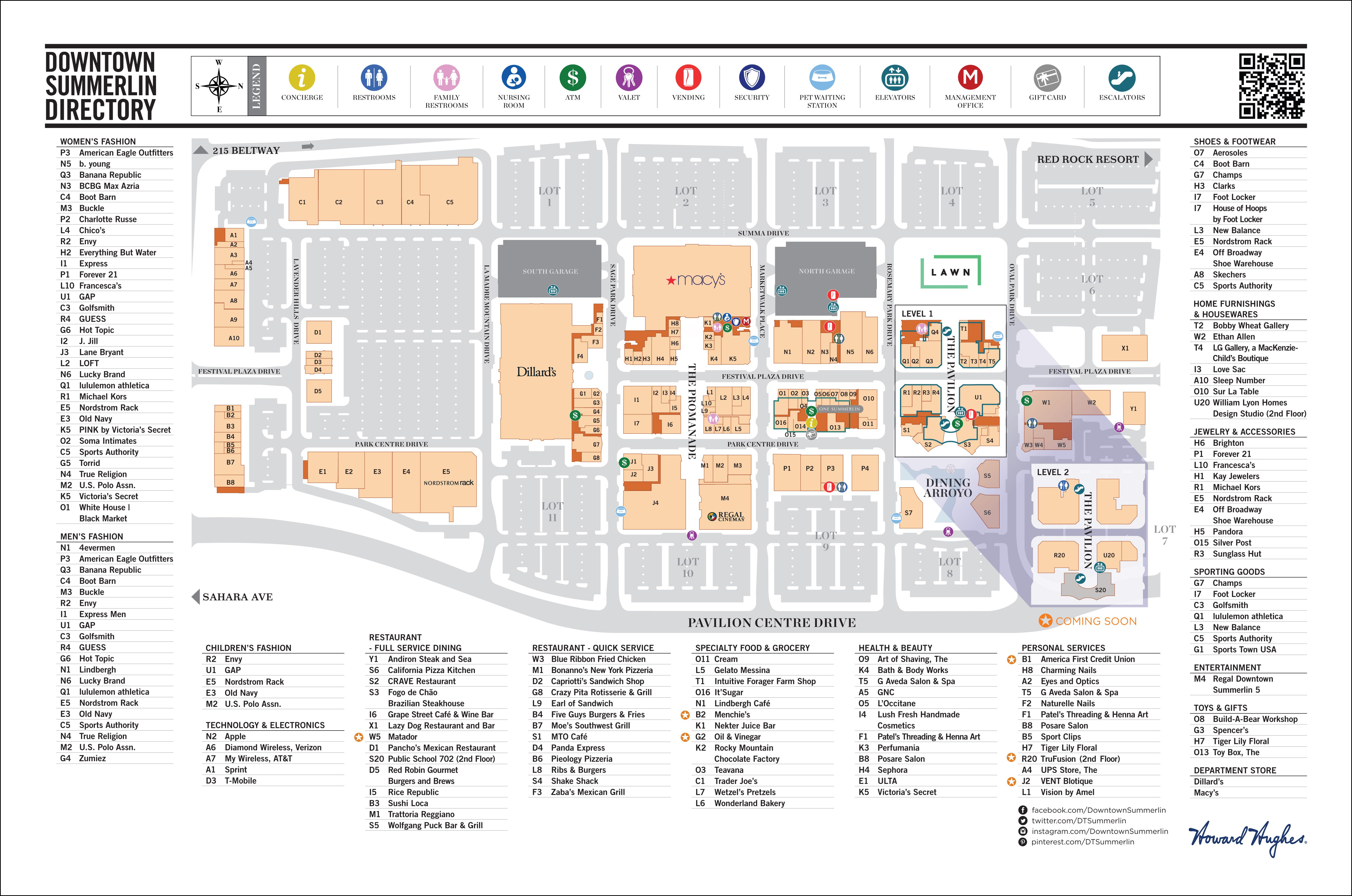 Downtown Mall Restaurant List