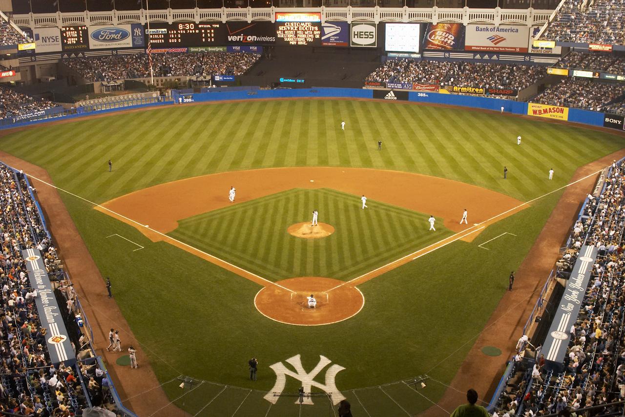 Old New York Yankees Field