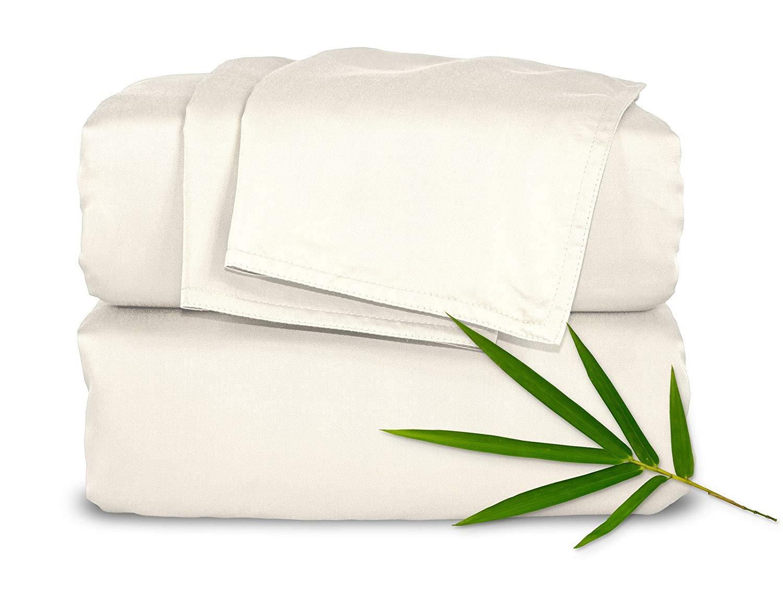 Pure Bamboo Sheets Bed Sheet Set - 100% Bamboo Luxuriously ...