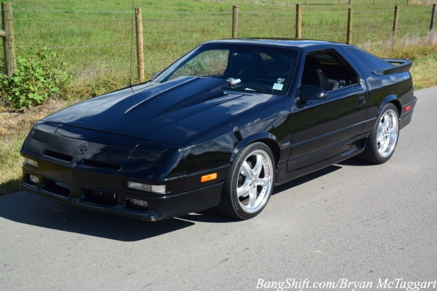 BangShift com This 1990 Dodge Daytona Will Shut Down A The K Daytona     But the problem that remained was the stigma that it was a  front wheel drive four banger  Even though Shelby worked his magic on the  motors  even though the
