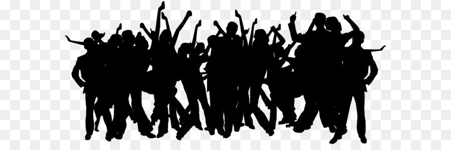 Party Silhouette Clip Art Party People Silhouettes Png Clip Art 8000 3565 Transprent Png Free