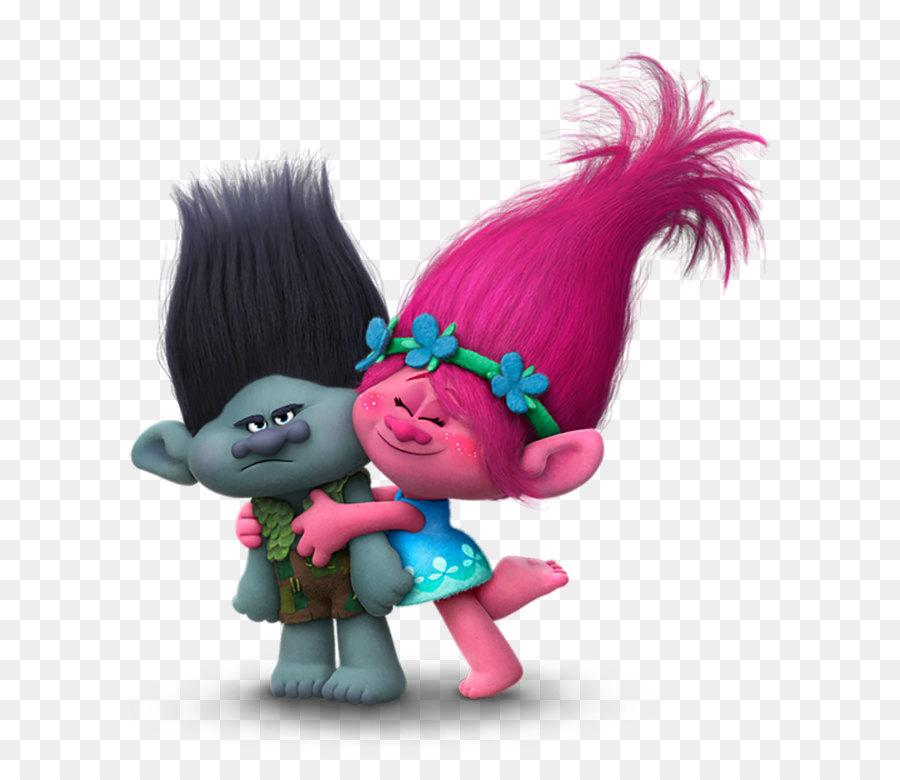 King Peppy Dj Suki Biggie Poppy Dreamworks Animation Trolls Branch And Poppy Transparent Png