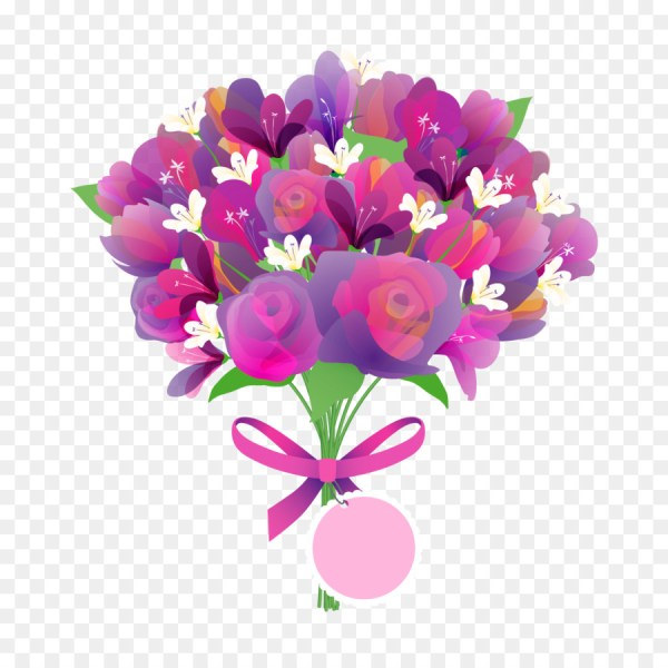 Mothers Day Flower bouquet Greeting card   Vector Rose png download     Mothers Day Flower bouquet Greeting card   Vector Rose