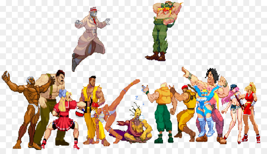 street fighter characters - 900×520