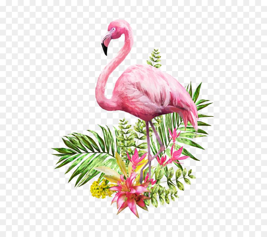 Flamingo Watercolor Painting Poster Flamingo 625 800