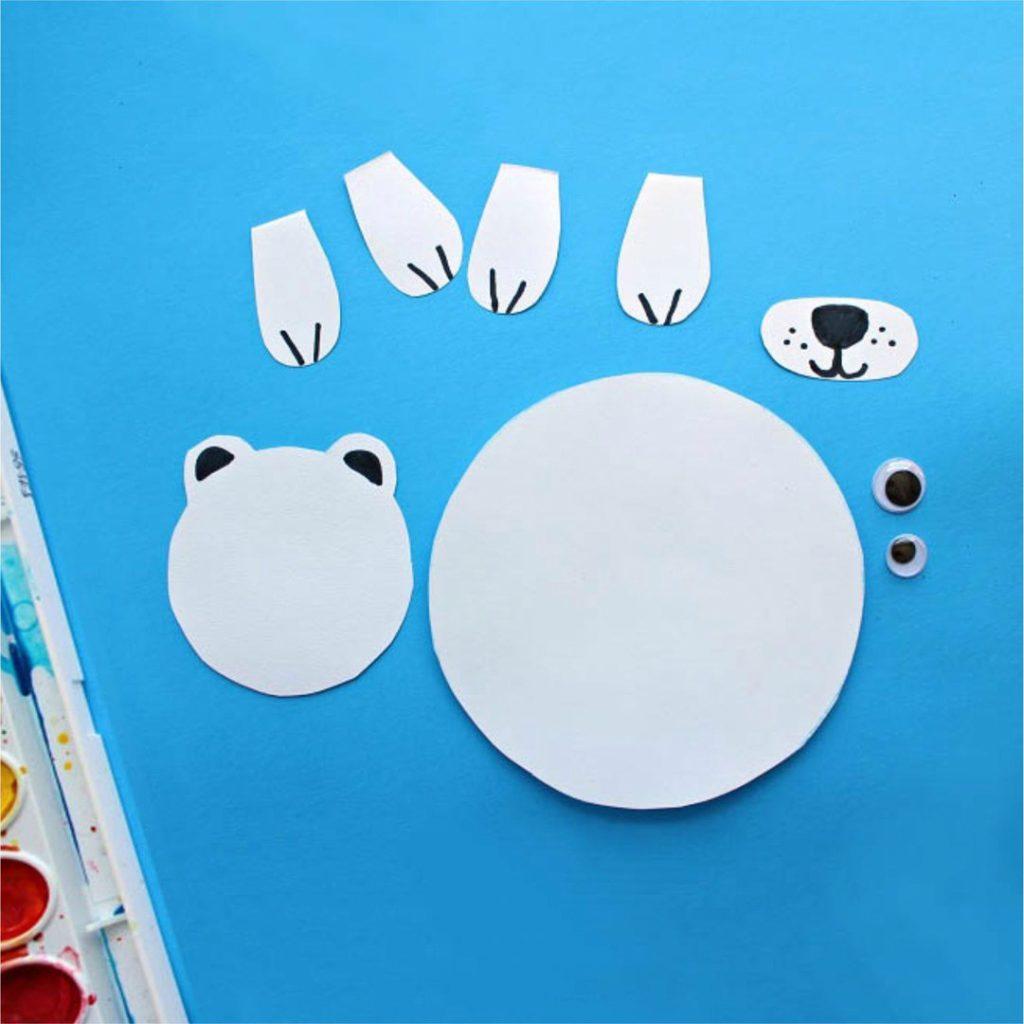 аппликация полярный медведь2
