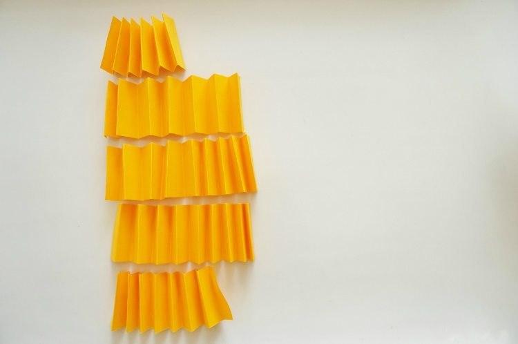 Mandarinen aus Papier3.
