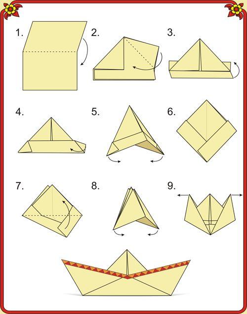 Origami savablik