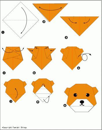 Origami-Hund