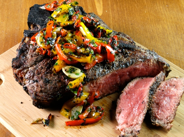 Grilling Steak Barbecuebible Com