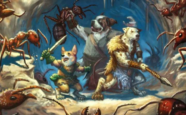 Valiant Pups Quest For The Lost Artifacts Of Human Civilization In     Valiant Pups Quest For The Lost Artifacts Of Human Civilization In Epic  Fantasy Game