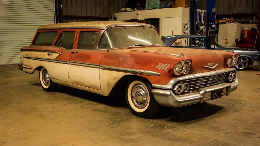 Save Me  1958 Chevrolet Nomad