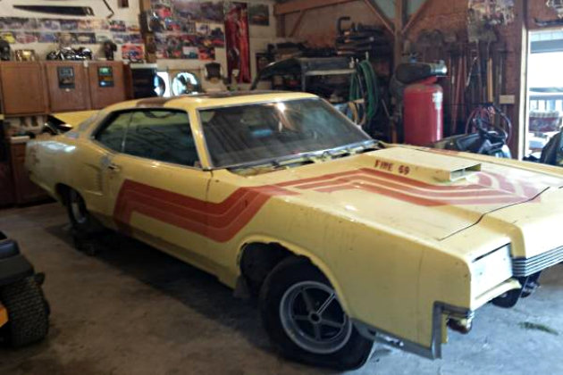 1969 Mercury Marauder X100  Crazy Paint