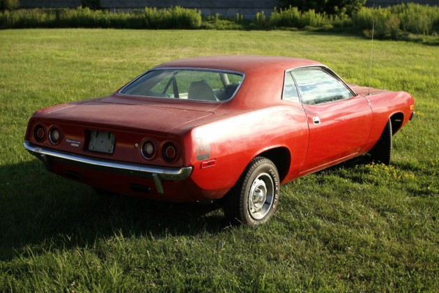 1972 Plymouth Barracuda Drive It Home