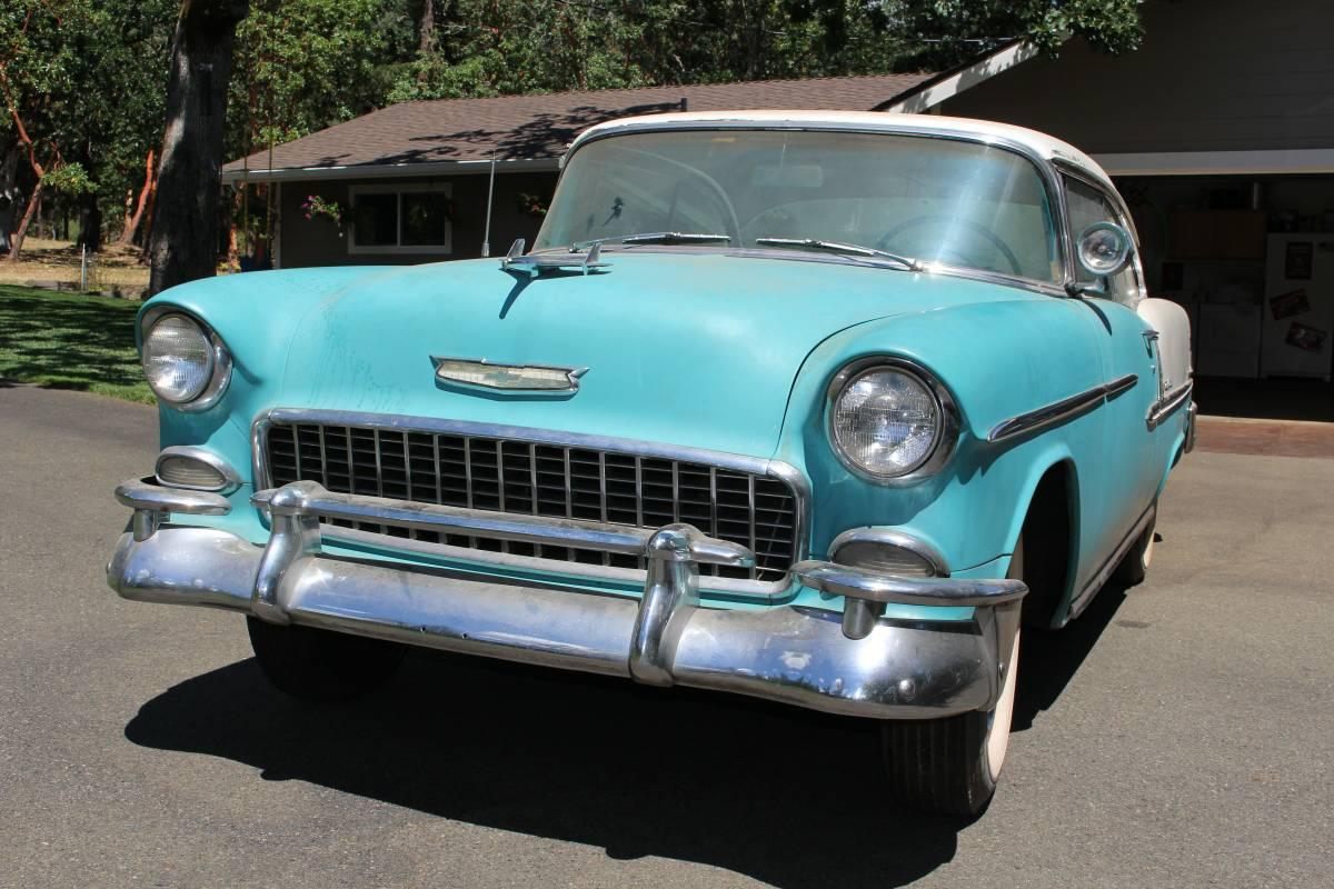 Dusty Dream Find 1955 Chevrolet Bel Air